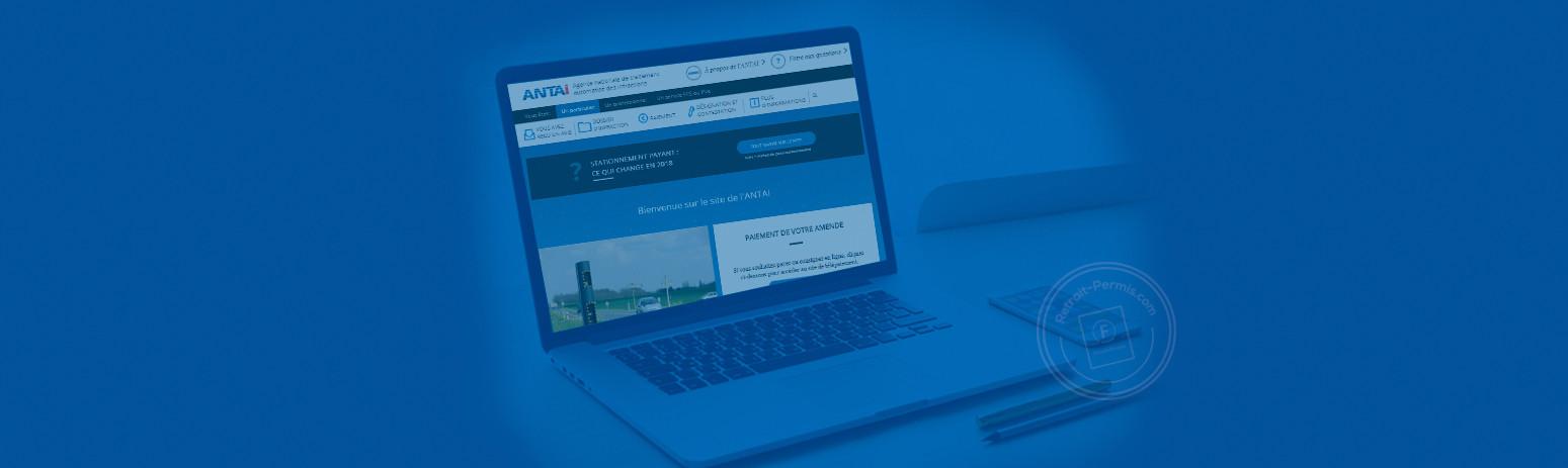 Comment contester une amende sur le site internet Antai.gouv ?