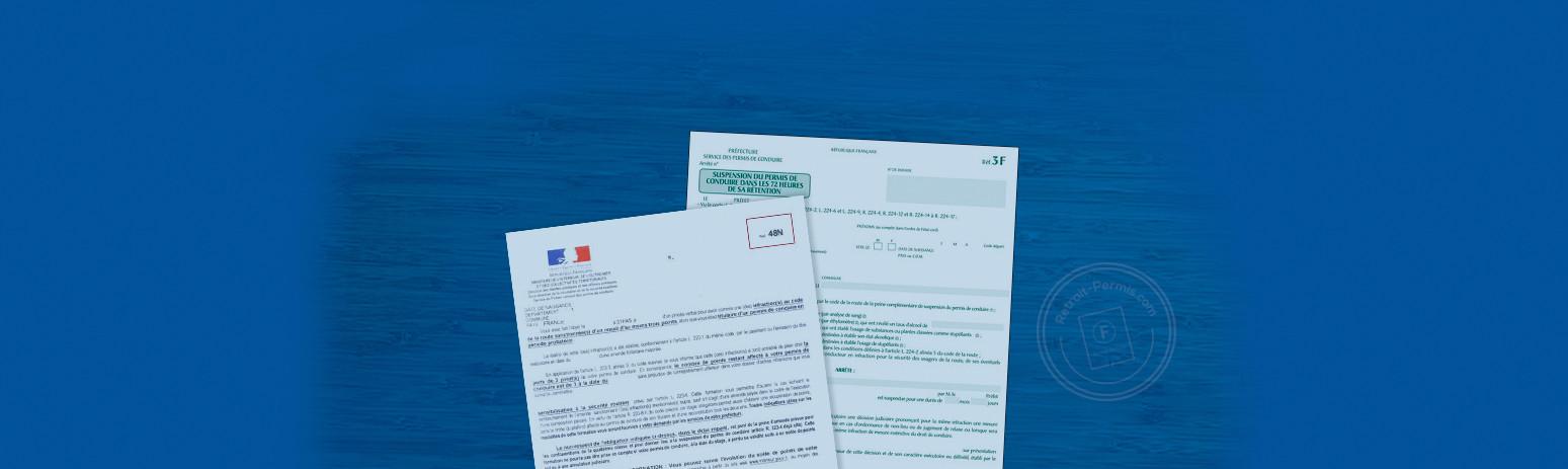 Les courriers que vous pouvez recevoir liés à votre permis de conduire