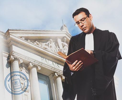 Recours et défense d'un avocat permis suite à un permis annulé au tribunal